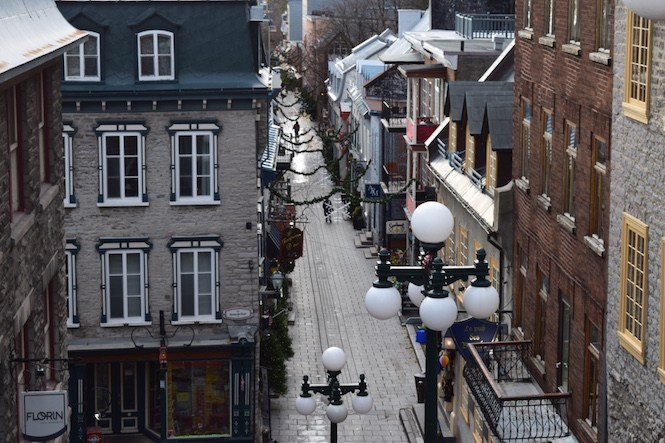 Quebec City's architecture is influenced by France.