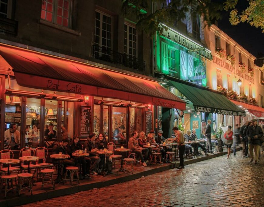 Paris cafe life
