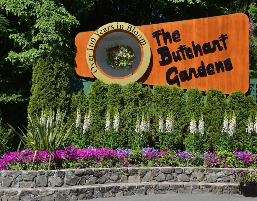 The Butchart Gardens 1280